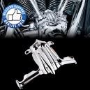 Couvre poussoirs moteur Harley de 2000 à 2016