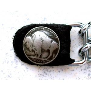 Chaine de gilet bison.