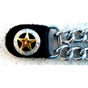 Chaine de gilet étoile shérif.