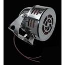 Sirène américaine à turbine chromé.
