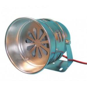 Sirene americaine a turbine chrome grand model. Haut de gamme.