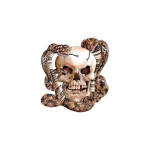 T shirt snake and skull