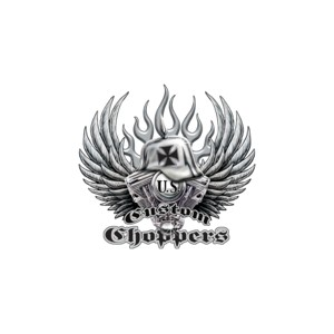 T shirt custom choppers