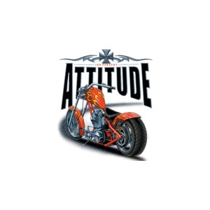 T shirt choppers attitude