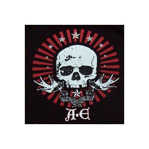 T shirt A.E skull