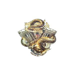 T shirt motor snake