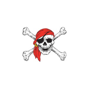 T shirt pirate