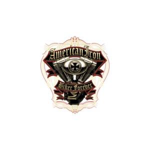 T shirt american iron biker