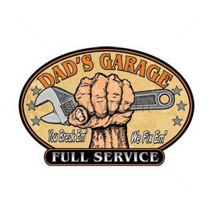 Débardeur dad's garage