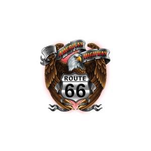 Débardeur route 66 eagle