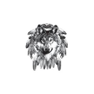 Débardeur tête de loup