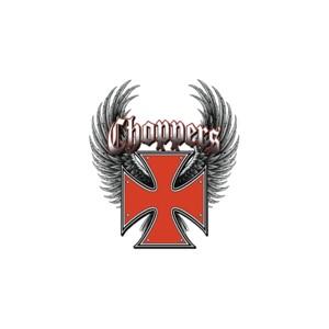 Débardeur croix de malte choppers rouge