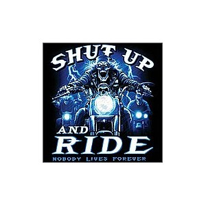 Débardeur shut up and ride