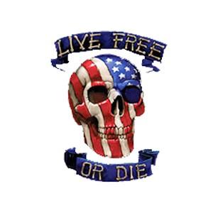 Débardeur live free or die