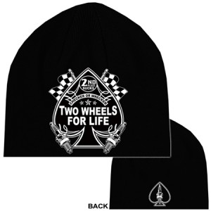 Beanies two wheels for life