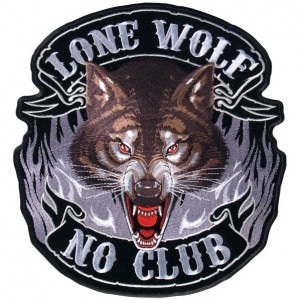 Patch, lone wolf.