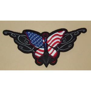 Patch, usa butterfly.