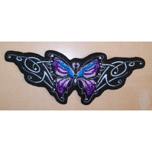 Patch, butterfly mauve.