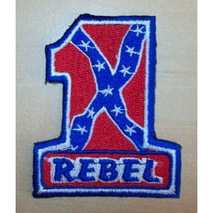 Patch,écusson one pourcent rebel.
