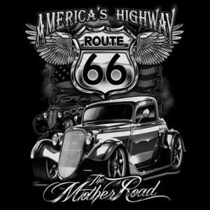 T shirt america's highway