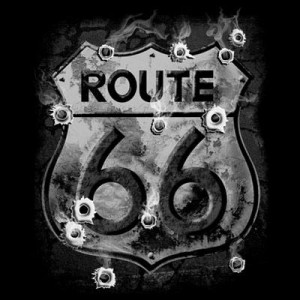 T shirt route 66