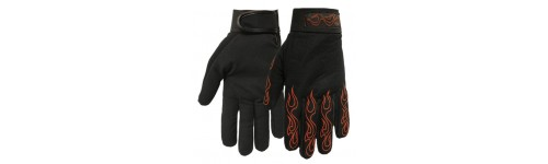 Gants moto flaming srtipping.