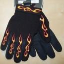 Gants moto flaming Taille S