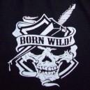 Logo white iron cross.