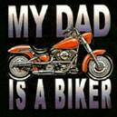 T shirt enfant baby today biker tomorrow