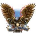 Logo road 66 flaming.