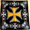 Bandana croix de malte.