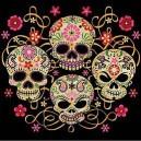 Sweat capuche demonized skull
