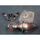 Filtre a air Spike chrome pour harley, model carburateur