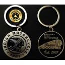 Porte clés indian motorcycle en rouge ou en noir.
