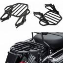 Porte bagage noir pour harley davidson FLH à partir de 2009